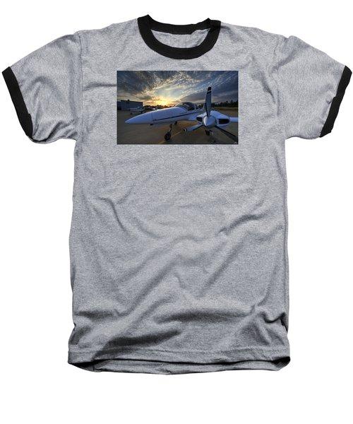 Good Morning On The Ramp Baseball T-Shirt