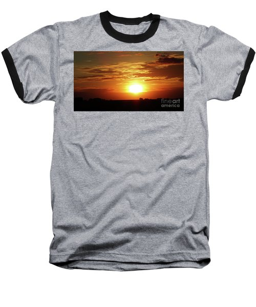 Good Morning Sun  Baseball T-Shirt by J L Zarek