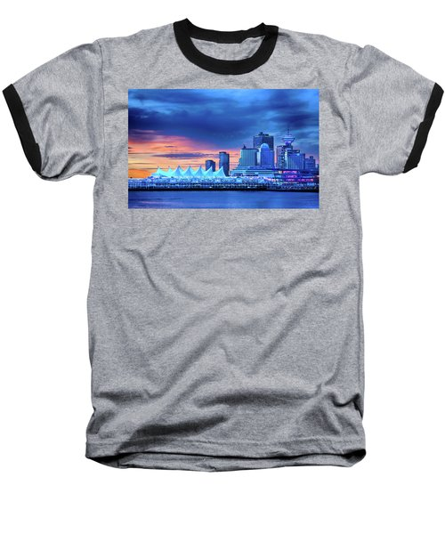Baseball T-Shirt featuring the photograph Good Morning Vancouver by John Poon