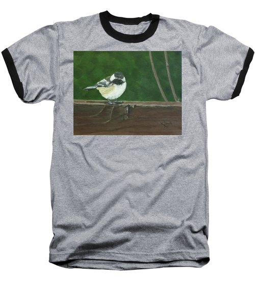 Baseball T-Shirt featuring the painting Good Morning by Wendy Shoults