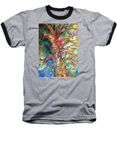 Good Neighbors Baseball T-Shirt by Claudia Cole Meek