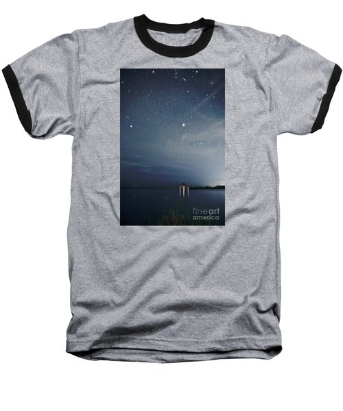 Good Night Dreams Baseball T-Shirt by Yuri Santin