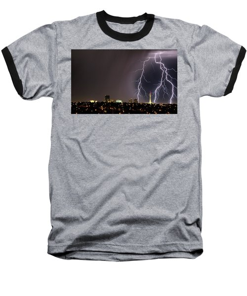 Baseball T-Shirt featuring the photograph Good Night Everybody by Michael Rogers