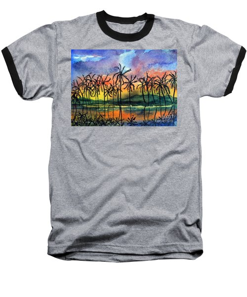Good Night Hawaii Baseball T-Shirt
