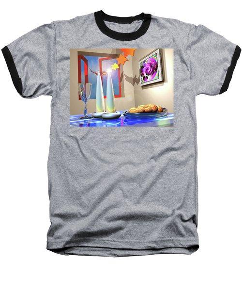 Good Shabbos Baseball T-Shirt