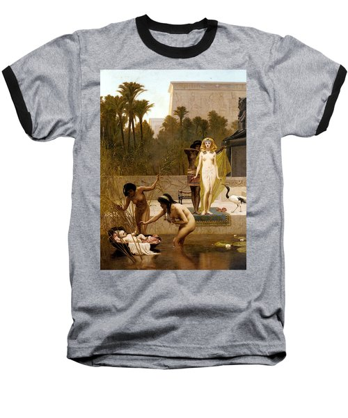 Goodall Frederik The Finding Of Moses Baseball T-Shirt