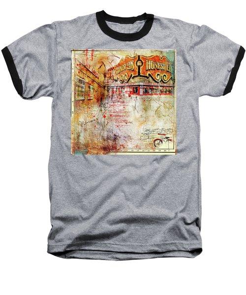 Goodbye Honest Eds II Baseball T-Shirt by Nicky Jameson