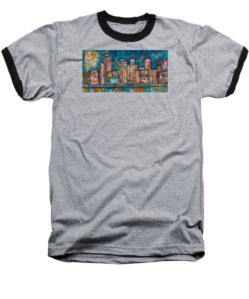 Goodnight Nashville Baseball T-Shirt by Kirsten Reed