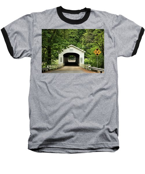 Goodpasture Covered Bridge Baseball T-Shirt