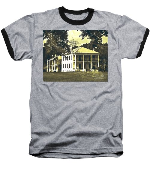 Goodwood Plantation Baton Rouge Circa 1852 Baseball T-Shirt