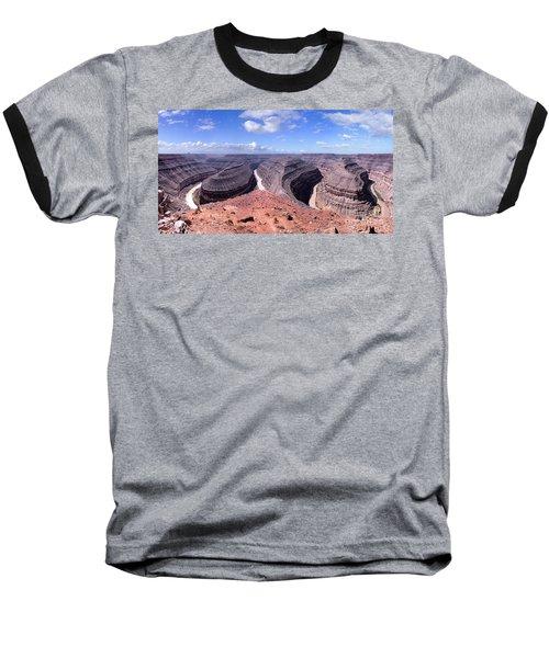 Gooseneck Bends Panorama Baseball T-Shirt