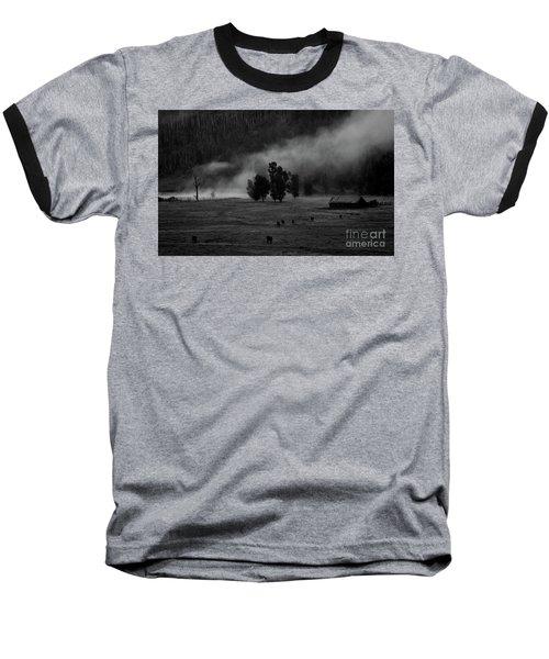 Gordon's Barn At Dawn Baseball T-Shirt