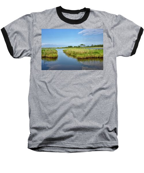 Baseball T-Shirt featuring the photograph Gordons Pond - Cape Henlopen Park - Delaware by Brendan Reals