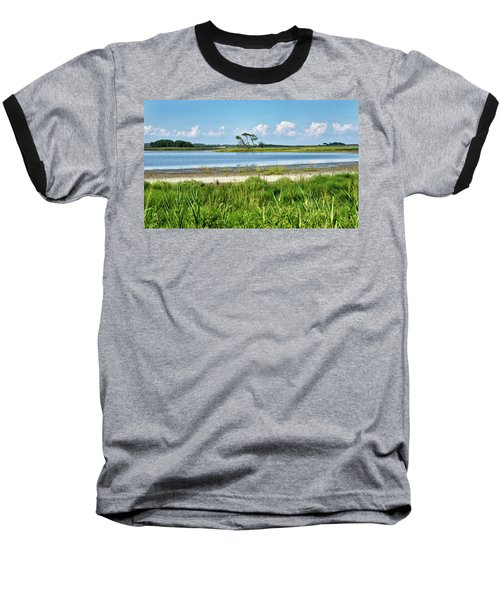 Baseball T-Shirt featuring the photograph Gordons Pond - Cape Henlopen State Park - Delaware by Brendan Reals