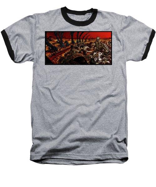Gored-explored Baseball T-Shirt