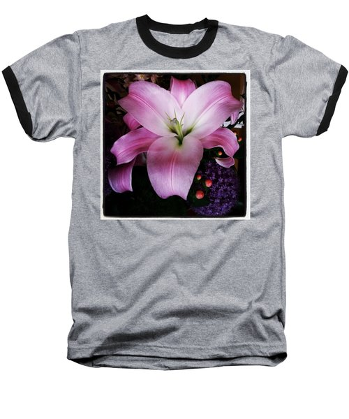 Baseball T-Shirt featuring the photograph Gorgeous Flowers. Real. I Think They by Mr Photojimsf