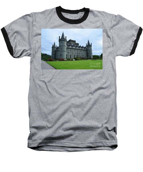Gorgeous View Of Inveraray Castle Baseball T-Shirt