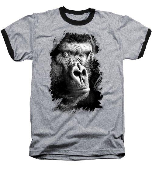 Gorilla T-shirt Baseball T-Shirt