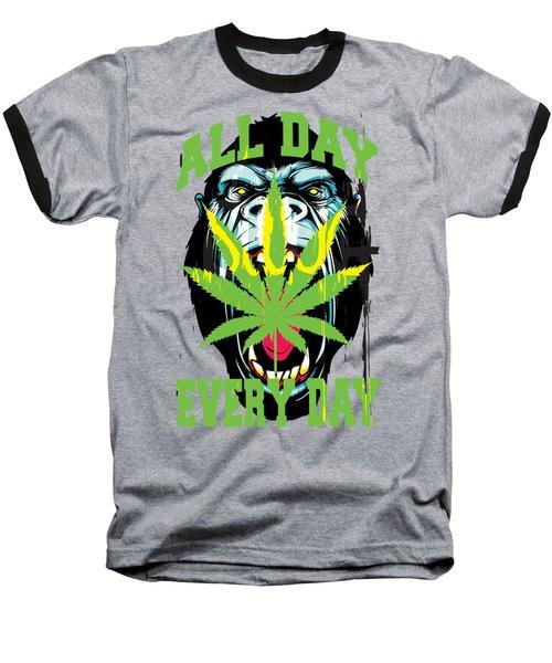 Gorilla Warfare  Baseball T-Shirt