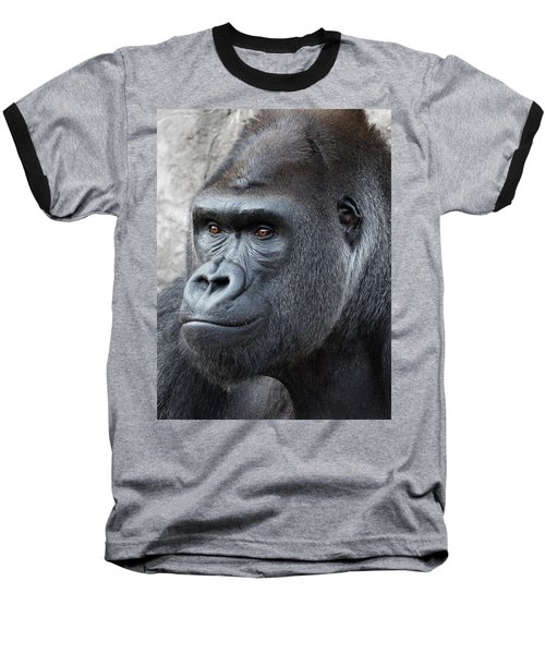 Gorillas In The Mist Baseball T-Shirt