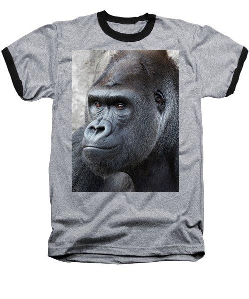 Gorillas In The Mist Baseball T-Shirt