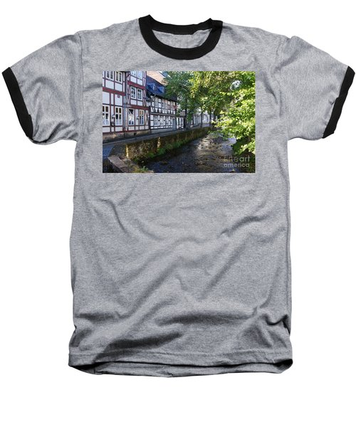 Goslar Old Town 8 Baseball T-Shirt by Rudi Prott