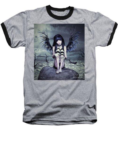 Goth Fairy Baseball T-Shirt