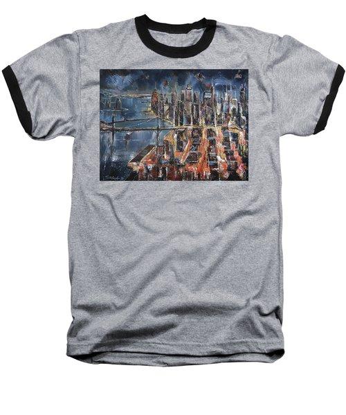 Gotham City II Baseball T-Shirt
