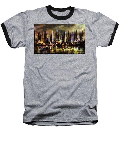 Gotham City IIi Baseball T-Shirt