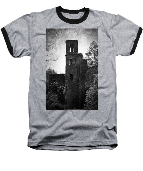 Gothic Tower At Blarney Castle Ireland Baseball T-Shirt