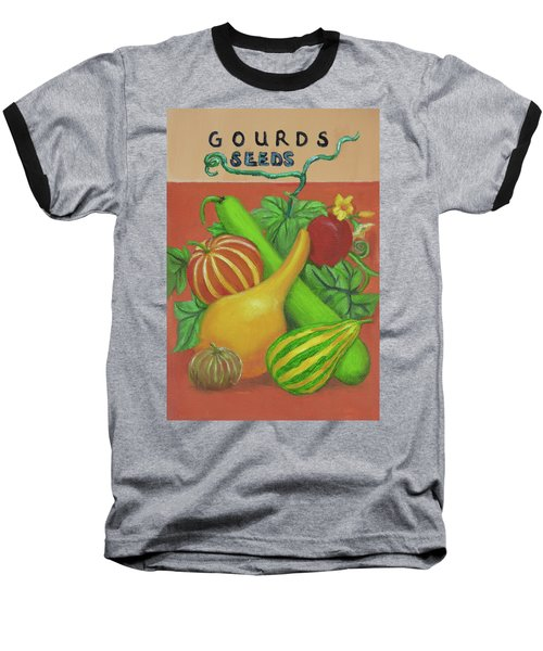 Gourd Orange Baseball T-Shirt