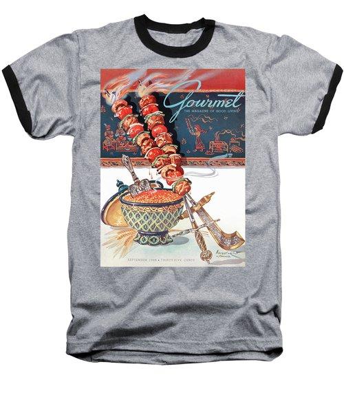 Gourmet Magazine September 1948 Baseball T-Shirt