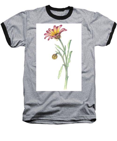Gousblom Baseball T-Shirt by Heidi Kriel