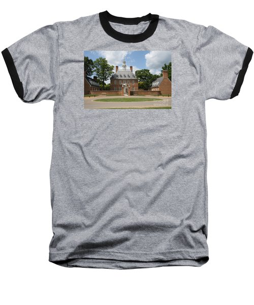 Governers Palace - Williamsburg Va Baseball T-Shirt by Christiane Schulze Art And Photography