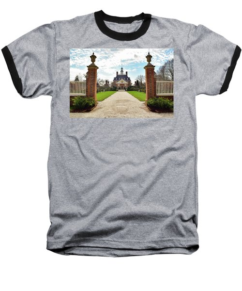 Governor's Palace In Williamsburg, Virginia Baseball T-Shirt