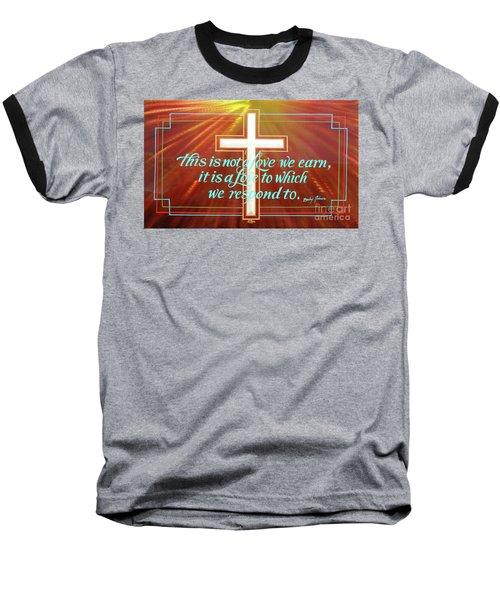 Grace  Baseball T-Shirt by Alan Johnson