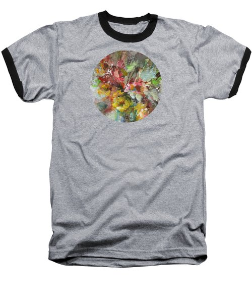 Baseball T-Shirt featuring the painting Grace And Beauty by Mary Wolf