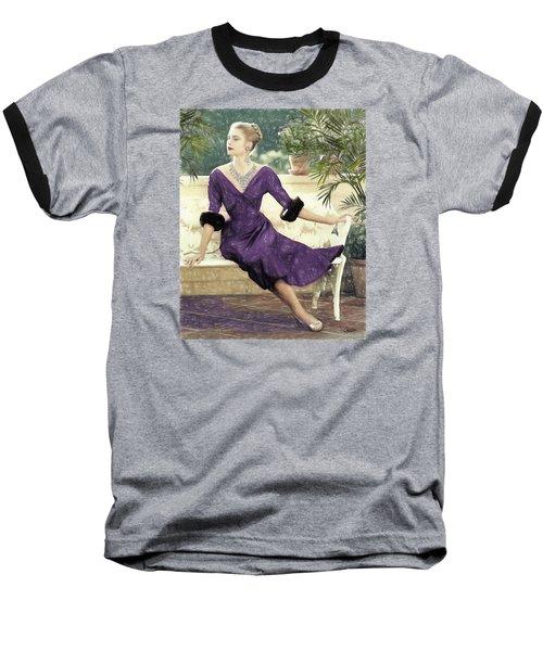 Grace Kelly Draw Baseball T-Shirt