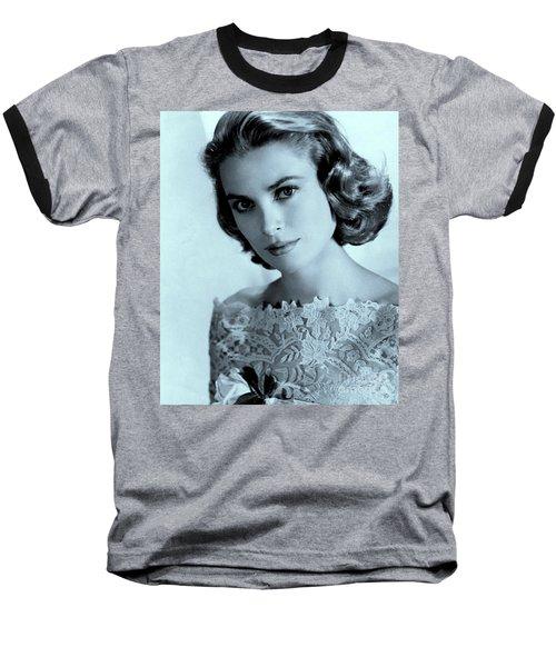 Grace Kelly Baseball T-Shirt by Lulu Escudero