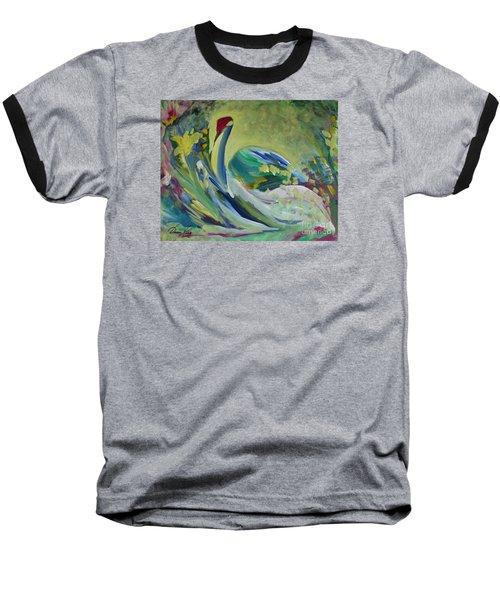 Graceful Swan Baseball T-Shirt