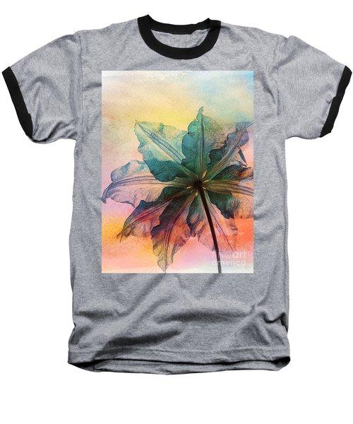 Gracefulness Baseball T-Shirt by Klara Acel
