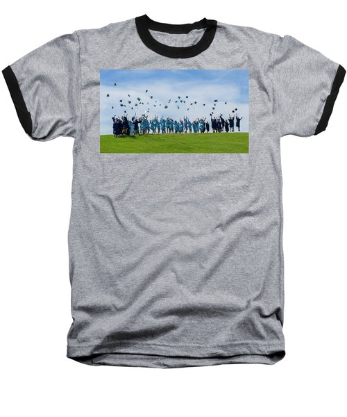 Baseball T-Shirt featuring the photograph Graduation Day by Alan Toepfer