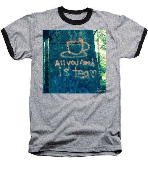 Graffitea Time Baseball T-Shirt