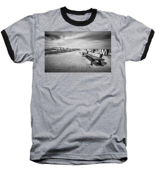 Graffiti Bench. Baseball T-Shirt