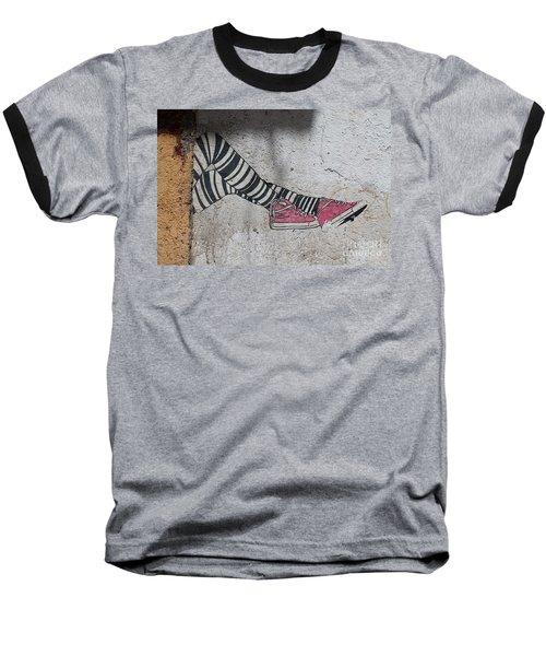 Graffiti Baseball T-Shirt by Lynn England