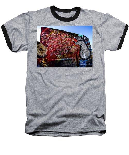 Graffiti_02 Baseball T-Shirt