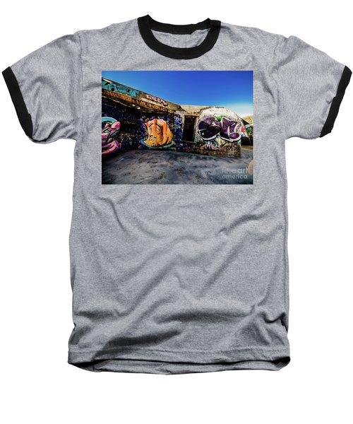 Graffiti_03 Baseball T-Shirt