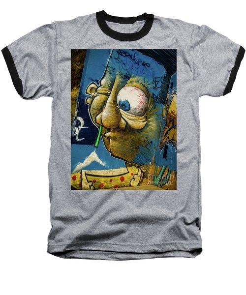 Graffiti_14 Baseball T-Shirt