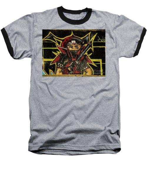 Graffiti_16 Baseball T-Shirt