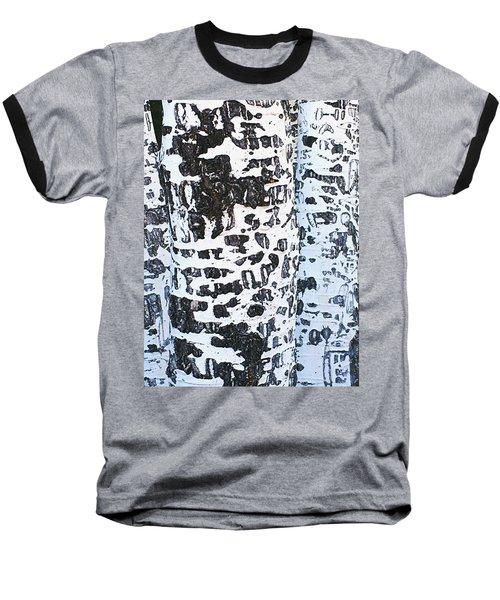 Graffitied Bark No. 1 Baseball T-Shirt